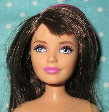 Barbie & Sisters Pony Tale Skipper doll articulated knee brunette pink EUC