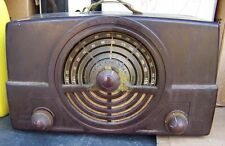 ZENITH 7H820 AM FM TUBE RADIO FOR PARTS/ PROJECT