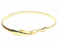 LADIES GOLD BELT NEW UNIQUE STUNNING BRAND NEW LAYERED SIMPLE ELEGANT CLEAN(SR)