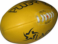 NEW HIGH ABRASION AUSTRALIAN RULES BALL JUNIOR AFL - 3 - REDUCED TO CLEAR