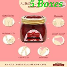 200 g Acerola Cherry Scrub Gel by Little Baby Whitening Skin Reduce Dark Spot