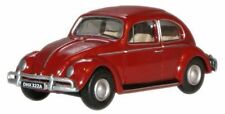 Oxford 76VWB002 Volkswagen Beetle Ruby Red 1/76 Scale New in Case -T48 Post W