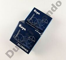 Koyo rear wheel roller ball bearings pair set for Aprilia RS 250 98-03 99 00 01