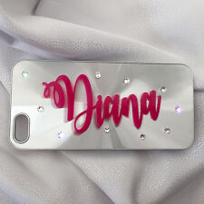 Iphone 6 Plus Case With Genuine Swarovski Crystal Personalised With any Name