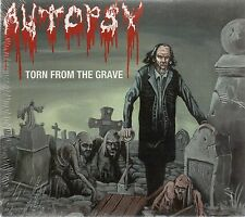 Autopsy - Torn from the Grave (Digipak) Peaceville 2001  Audio CD Sealed