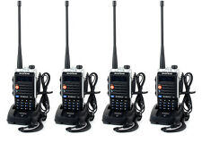 4PCS Baofeng BF-UVB2plus VHF / UHF Dual Band 128CH 5W DTMF encoded Two way Radio