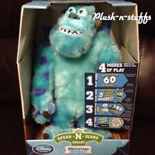 "SPEAK AND SCARE TALKING SULLEY Monsters University10""Disney Doll INTERACTIVE inc"