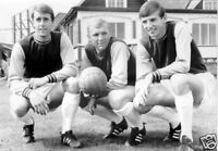 Bobby Moore Hurst Peters Early Days West Ham 10x8 Photo