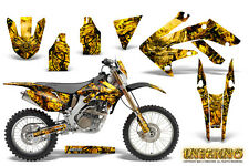 HONDA CRF 250 X CRF250X 2004-2016 GRAPHICS KIT DECALS CREATORX INFERNO YNP