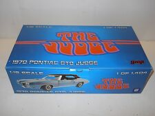 GMP 1:18 DIECAST 1970 Pontiac GTO Judge MIB - Blue Convertible