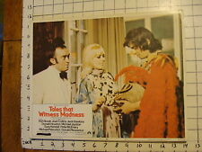 Vintage Lobby card: 1973 TALES THAT WITNESS MADNESS #8, Kim Novak; Joan Collins