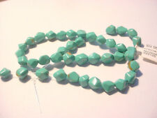 41 Stabilized Turquoise Stone 9mm Nugget Beads