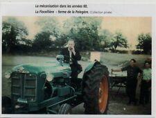 2002  --  MECANISATION A LA FLOCELLIERE  FERME DE LA POLEGRE ANNEES 60   3K661
