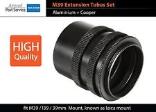 M39 l39 Mount Macro Extension Tube Ring fit Leica Voigtlander Canon camera body