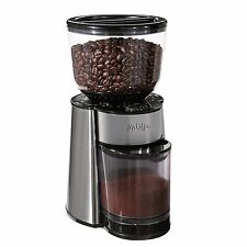 Mr. Coffee BVMC-BMH23 Automatic Burr Mill Grinder, Black/Silver