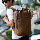 Men's Vintage Canvas Travel Backpack School Camping Hiking Rucksack Satchel Bag