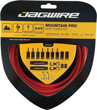JAGWIRE MOUNTAIN PRO RED MTB SHIFTER SHIFT DERAILLEUR CABLE KIT