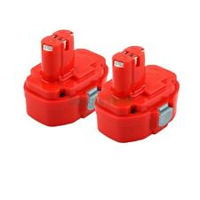 2x 18V 3000mAh Ni-MH Battery for Makita 1822 1823 1834 192827-3 Cordless Drill