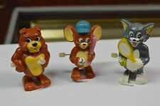 TOM, JERRY, AND SPIKE Tom and Jerry 1989 Wind Up ToyS Disney Cartoon Collectible