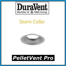 "DURAVENT PELLETVENT PRO Pipe 3"" Diameter Storm Collar #3PVP-SC NEW!"
