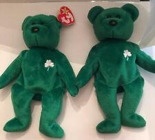 Two Original Beanie Babies- Erin One Without Hang Tag