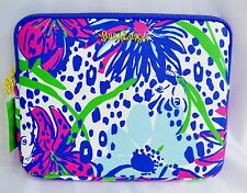 Lilly Pulitzer Tech Clutch iPad Tablet Purse Handbag Resort White In the Garden