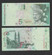 Malaysia 5 Ringgit (ND 2001) P 41b Paper notes - UNC
