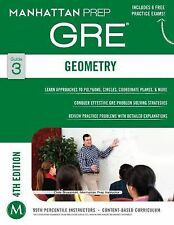 Geometry GRE Strategy Guide, 4th Edition by Manhattan Prep (2014, Paperback,...