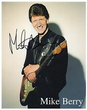 MIKE BERRY - Signed 10x8 Photograph - MUSIC/TV COMEDY