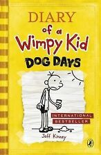 Diary of a Wimpy Kid: Dog Days, Jeff Kinney, Very Good Condition Book
