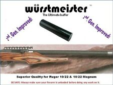 CUSTOM MADE RECOIL BUFFER FOR RUGER 10/22 -- IMPROVED! -- THE BEST QUALITY!