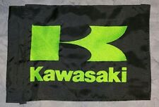 Custom Kawasaki Flag for  ATV Dirt Bike Dune Safety Flag