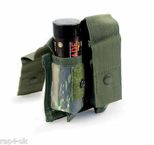 Molle 40mm Double Grenade / Smoke Bomb Pouch TiPX Mag Pouch (Tiger Stripe) [AM8]