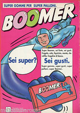Pubblicità Advertising 1992 BOOMER chewing-gum