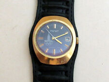 POLJOT Poliot Olympic Games gold plated USSR vintage men's mechanical wristwatch