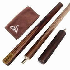 NEW Cuesoul 3/4 Snooker Cue 57-1/4 Inch 18oz Walnut  with cleaning towel