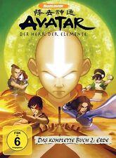 AVATAR - BUCH 2: ERDE KOMPLETT  4 DVD NEU