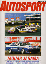 Autosport 26 Mar 1987 - Jarama Sports Prototypes, Monza WTCC, Modified racing