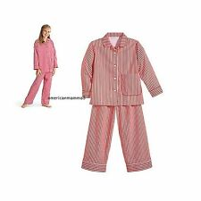 American Girl CL MOLLY PAJAMAS SIZE XS 6 for Girls Pajamas Sleepwear Striped NEW