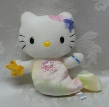 "Hello Kitty Mermaid Plush 8"" Sanrio Velveteen 2001 HTF Rare Vintage Stuffed EUC"