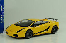 Lamborghini Gallardo Superleggera giallo midas metallic yellow gelb 1:18 Autoart