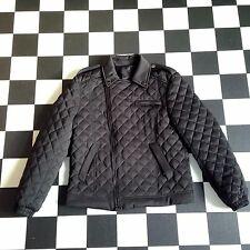 Pierre Balmain Quilted Biker Down Jacket Sz54