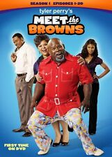 TYLER PERRY MEET THE BROWNS SEASON 1 New Sealed 3 DVD Set