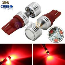 2x Red High Power 30W T10 T15 6-CREE XB-D LED Lights Projector bulbs 912 921 168