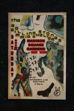 The Rolling Stones Poster 1969 New York Madison Square