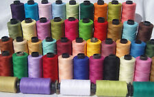 50 Large SEWING 100% PURE COTTON  THREAD 50 Different Colours, Premium Quality