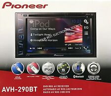 "NEW Pioneer AVH-290BT 2-DIN Bluetooth DVD/CD/AM/FM Car Stereo 6.2"" Display"