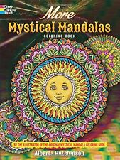 Adult Coloring Books Mystical Mandala Art Design Patterns Painting Stress Relax