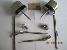 STREET ROD VINTAGE FORD CHEVY, DODGE JEEP CUSTOM CAR WINDSHIELD Wiper Motor KIT