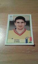 N°43 OVIDIU STINGA # ROMANIA PANINI UEFA EURO 2000 GREEN BACK